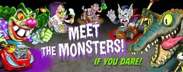 Monster 500 Meet the Monsters