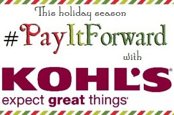 Pay It Forward with Kohl's this Holiday Season
