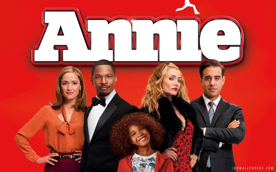 ANNIE movie in Theaters on 12/19/14!