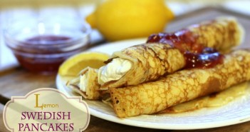 lemon swedish pancakes, Splenda,365,#Sweetswaps
