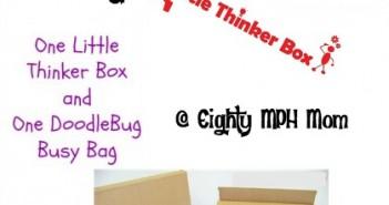 little thinker box, giveaway