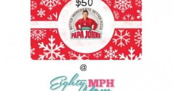 papa john's, gift card, giveaway