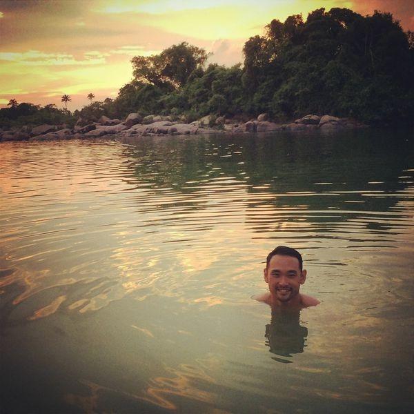 swimming,amazon
