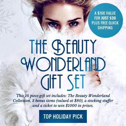 total beauty, wonderland gift set