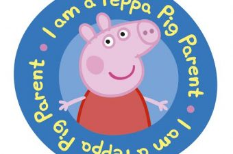 Peppa Pig VIP Parent Badge