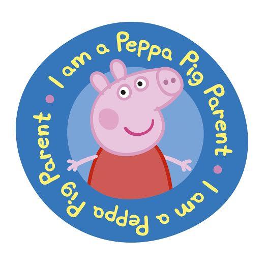 Peppa Pig VIP Parent Badge