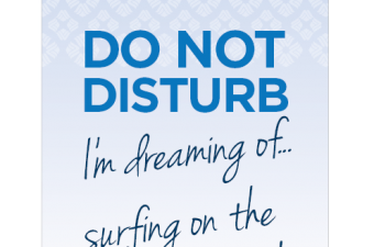Do Not Disturb Sweepstakes from Wyndham Hotels and Resorts