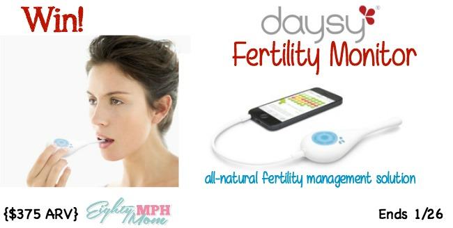 daysy, fertility monitor,giveaway