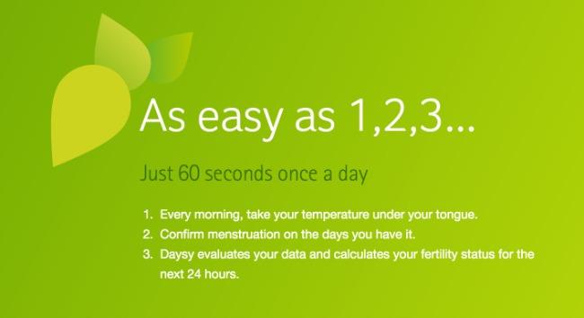 daysy fertility monitor