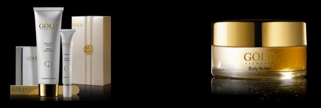 gold elements nail gift set
