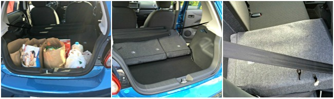 2015 mitsubishi mirage, trunk