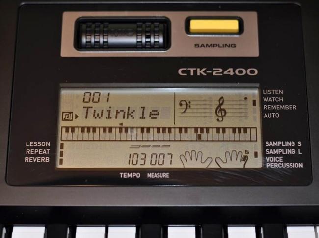 Casio CTK-2400, Detailed