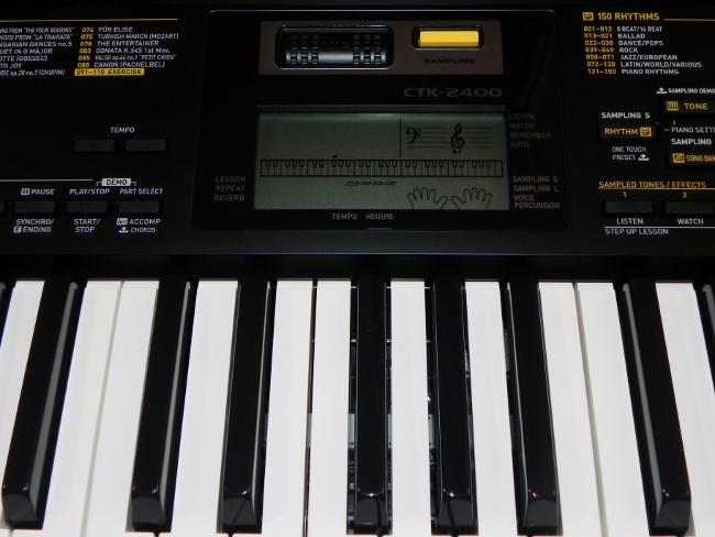 create a musical masterpiece with the casio ctk 2400 review eighty mph mom oregon mom blog. Black Bedroom Furniture Sets. Home Design Ideas