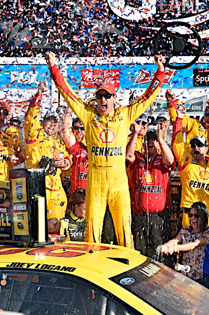 Joey Logano 2015 NASCAR Daytona 500 Race - Image Credit: JoeyLogano.com