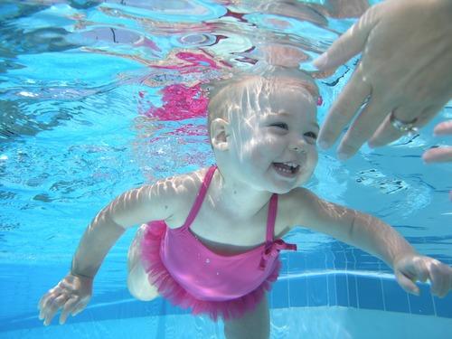 baby swimming, pediaswim