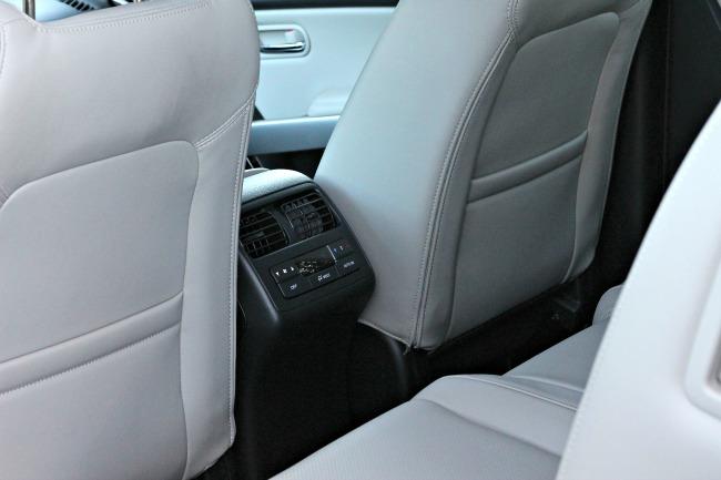 maxda cx9 backseat