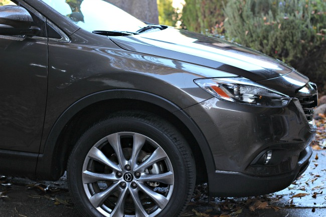maxda cx9 front end exterior