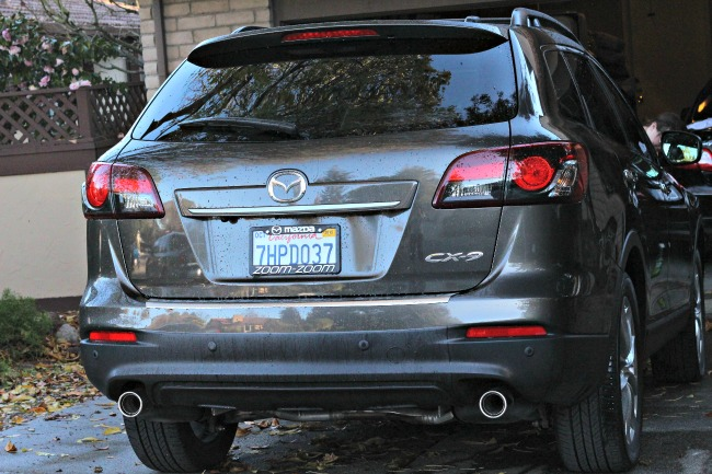 maxda cx9 rear exterior