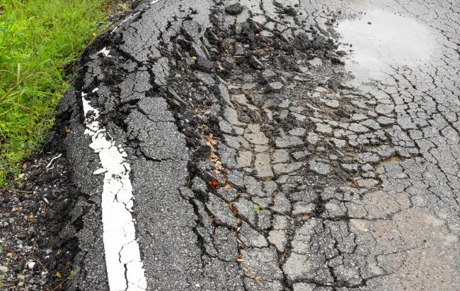 monroe pothole