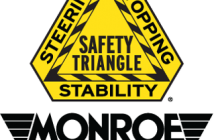 monroe shocks and struts, safety triangle