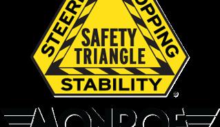 monroe shocks and struts, safety triangle