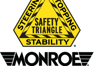 Monroe Shocks and Struts Safety Triangle – worn shocks can affect your whole vehicle!