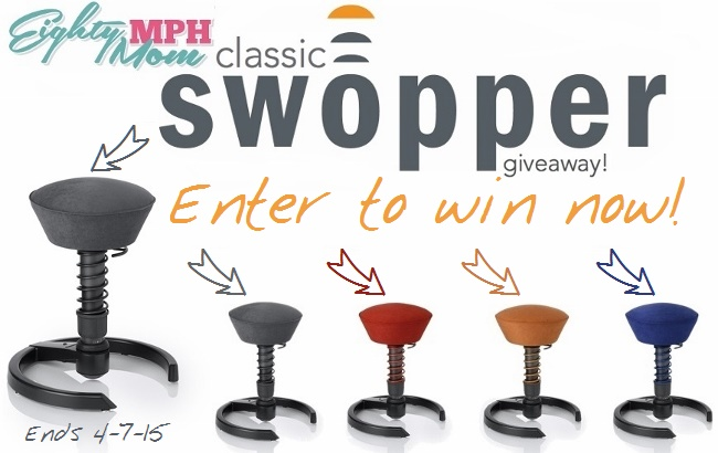 Eighty MPH Mom - Swopper Giveaway