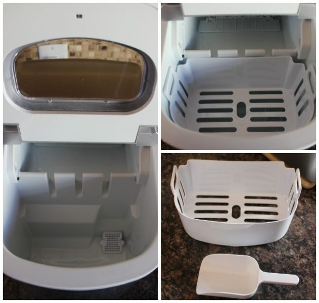 Magic Chef Countertop Ice Maker Instructions : ... ice the Magic Chef Countertop Ice Maker makes with approximately 10