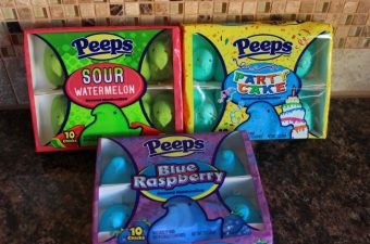 Filling Easter Baskets with #PEEPSONALITY!  A Tasty Review of PEEPS!