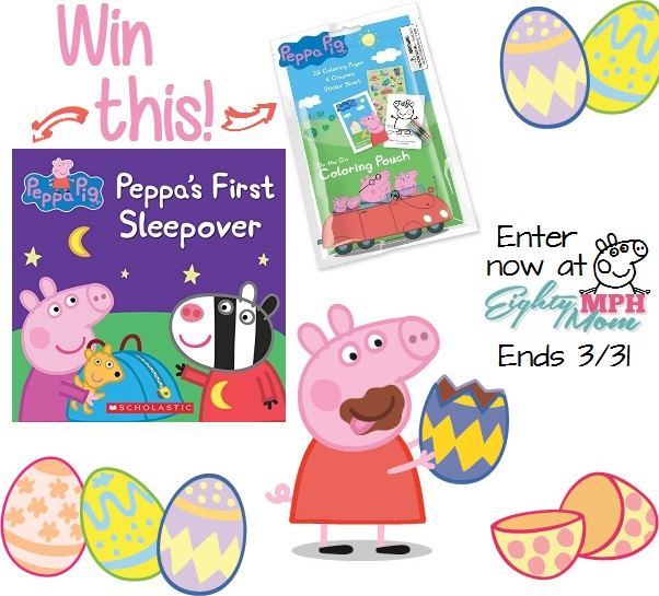 Peppa Pig Giveaway - Eighty MPH Mom