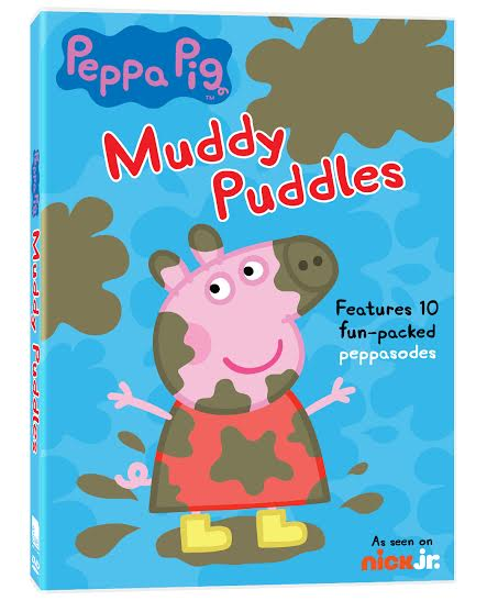 Peppa Pig - Muddy Puddles DVD