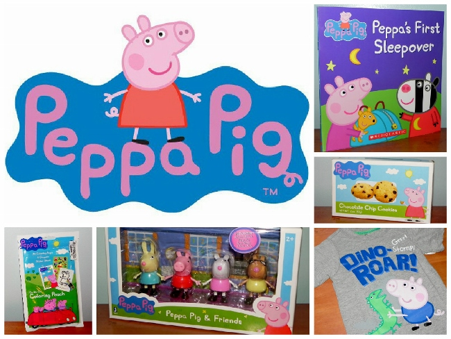 Peppa Pig Collage