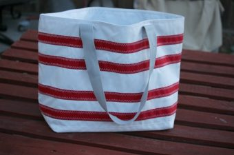 Get Ready for Summer with the Nautical Stripes Beach Tote from SailorBags
