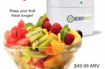 BerryBreeze Keeps Food Fresh Longer