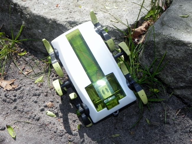 SmartLab Toys - You-Build-It RoboXplorer, In Action