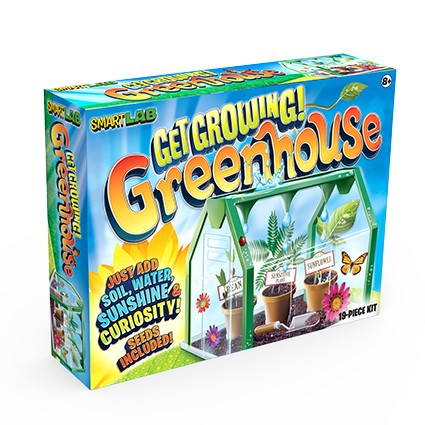 SmartLab Toys - Get Growing! Greenhouse
