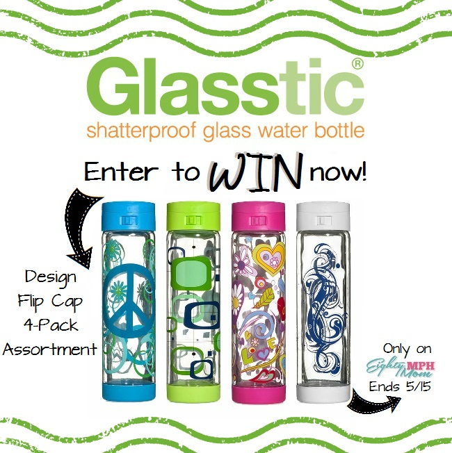 Glasstic Giveaway - Eighty MPH Mom