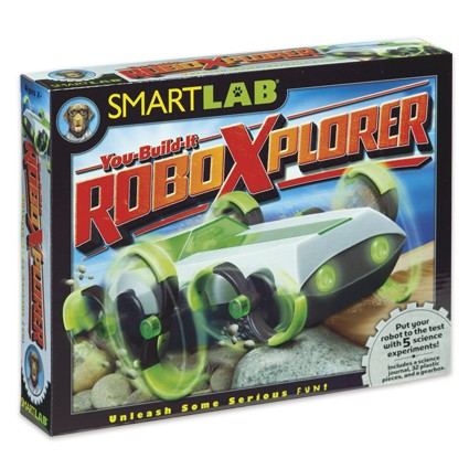 SmartLab Toys - You-Build-It RoboXplorer