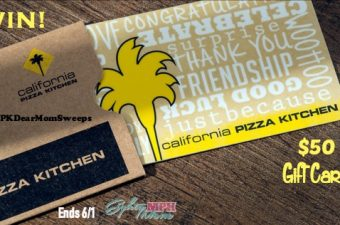"CPK ""Dear Mom"" Sweepstakes"