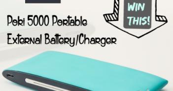 lepow poki 5000 portable charger giveaway