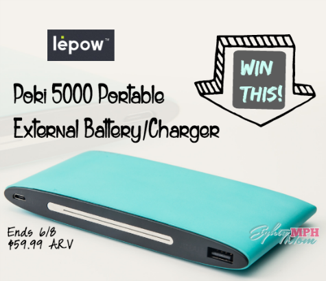 lepow poki 5000 portable charger giveaway