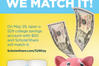 ScholarShare National 529 Day- start saving for college!