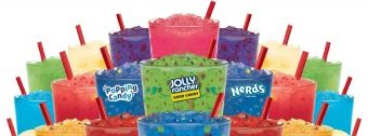 Colorful and Flavorful Slushes from Sonic Drive-In