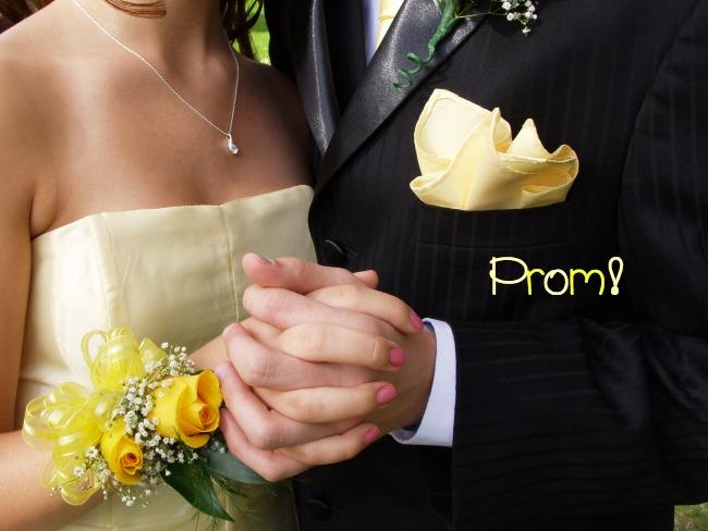yellow-prom-dress-corsage