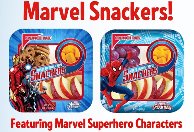Crunch Pak - Marvel Snackers