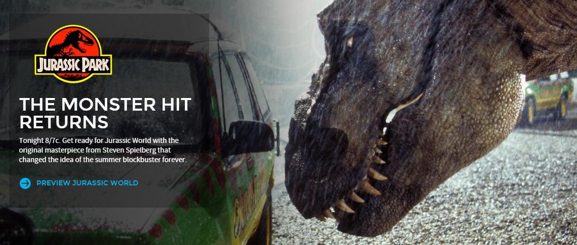 Jurassic Park on NBC