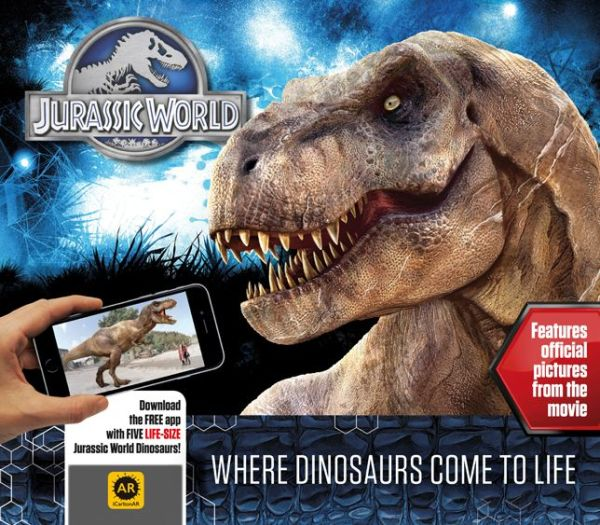 Jurassic World - Where Dinosaurs Come to Life Book