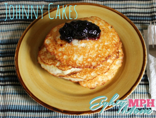 P.A.N. Cornmeal Johnny Cakes with Jam