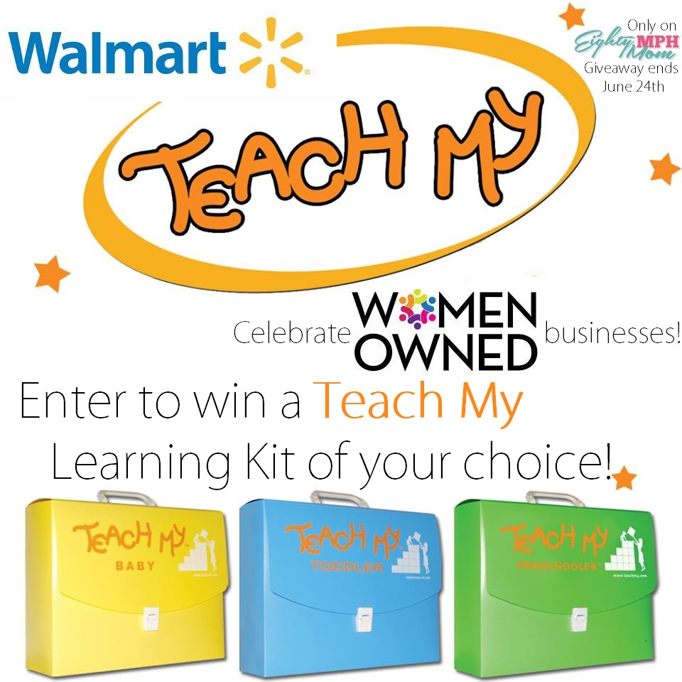 Teach My Giveaway - Eighty MPH Mom