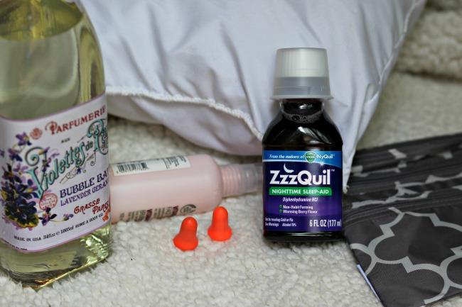 Vicks Zzzquil travel checklist